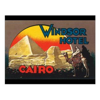 Cartão Postal Trabalhos de arte do poster de viagens de
