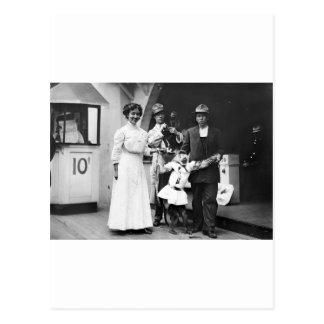 Cartão Postal Trabalhos sujos de Coney Island