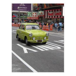 Cartão Postal Trabant em Manhattan