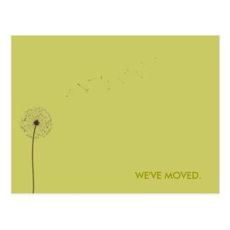 Cartão Postal tração:  anúncio movente