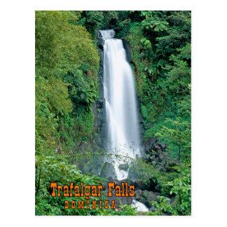 Cartão Postal Trafalgar cai Dominica