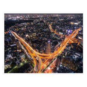 Cartão Postal Tráfego de Tokyo