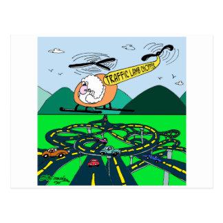 Cartão Postal Tráfego Lamb-Chopper.