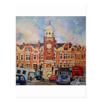 Cartão Postal Tráfego transversal da cidade