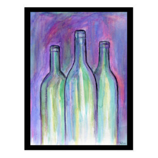 Cartão Postal Traga o vinho