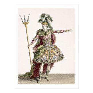 Cartão Postal Traje para Netuno em diversas óperas, gravado