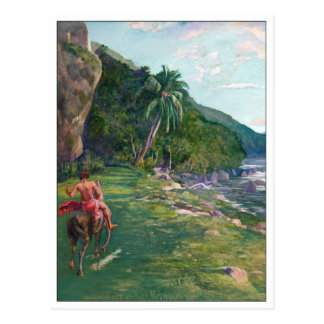 Cartão Postal Trajeto de freio Tahiti pelo La Farge