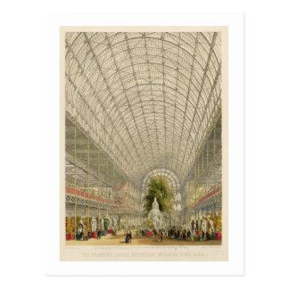 Cartão Postal Transept do palácio de cristal, bar. em o dia e