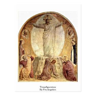 Cartão Postal Transfiguração por Fra Angelico