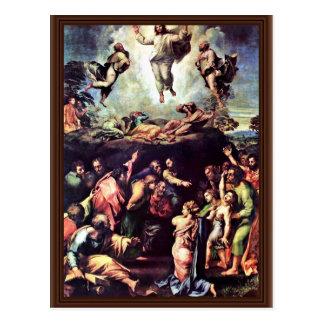 Cartão Postal Transfiguração por Raffael (a melhor qualidade)