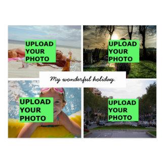 Cartão Postal Transfira arquivos pela rede sua foto