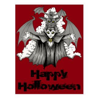 Cartão Postal Transformação do vampiro