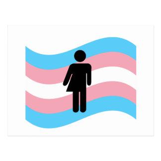 Cartão Postal Transgender