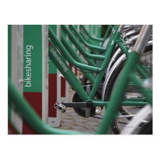 Cartão Postal Transporte verde da cidade
