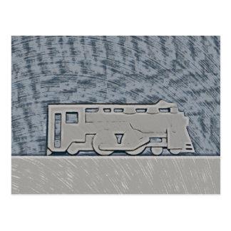 Cartão Postal Trem