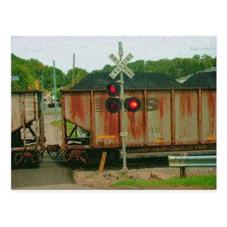 Cartão Postal Trem de carvão de WV