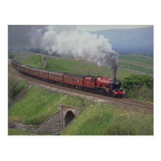 Cartão Postal Trem do vapor