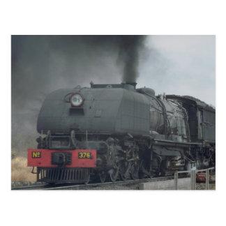 Cartão Postal Trem do vapor, Zimbabwe