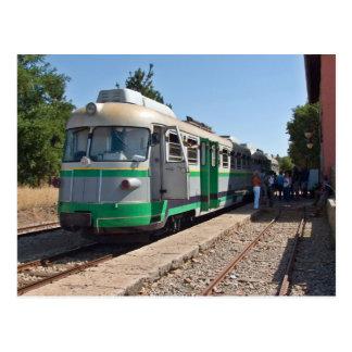 Cartão Postal Trenino Verde, o pouco trem verde, Sardinia