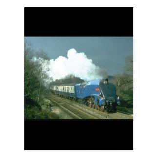 Cartão Postal Trens do works_Steam do senhor Nigel Gresley de