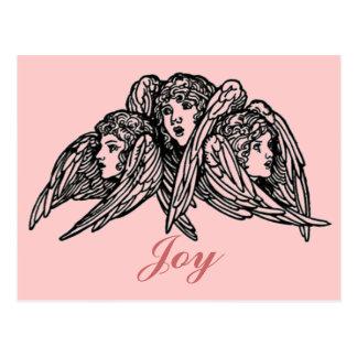 Cartão Postal Três anjos