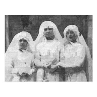 Cartão Postal Três freiras