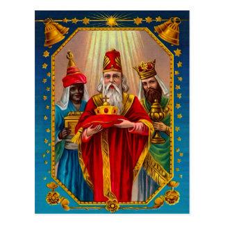 Cartão Postal Três homens sábios
