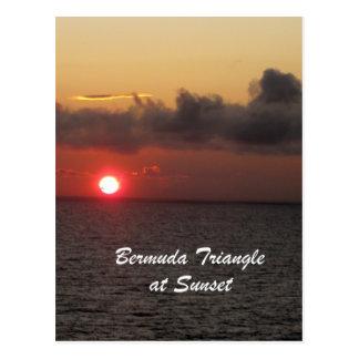 Cartão Postal Triângulo de Bermuda