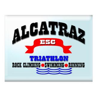 Cartão Postal Triathlon de Alcatraz