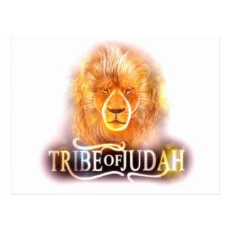Cartão Postal Tribo do cargo Card1 de Judah