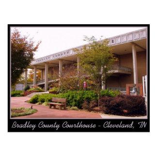 Cartão Postal Tribunal de Bradley County - Cleveland, TN