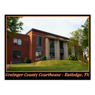Cartão Postal Tribunal de Grainger County - Rutledge, TN
