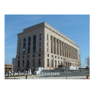 Cartão Postal Tribunal de Nashville - o Condado de Davidson,
