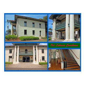 Cartão Postal Tribunal velho de Lahaina