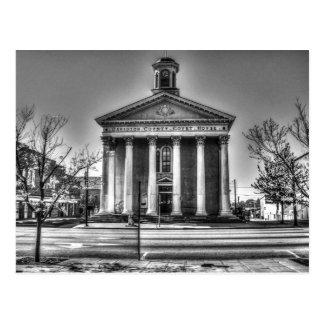 Cartão Postal Tribunal velho do Condado de Davidson