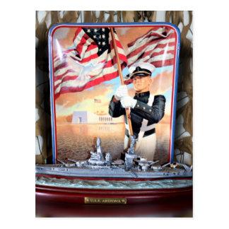 Cartão Postal Tributo da arizona de USS