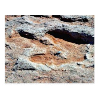 Cartão Postal Trilhas do dinossauro ao norte do mastro