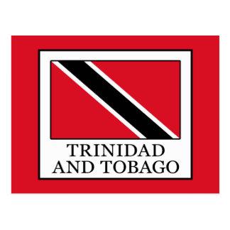 Cartão Postal Trinidad and Tobago