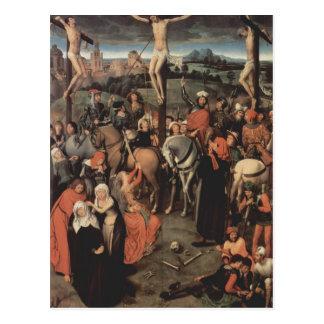 Cartão Postal Triptych do Memling-Altar de Hans da catedral de