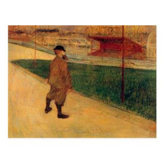 Cartão Postal Tristan Bernard por Toulouse-Lautrec