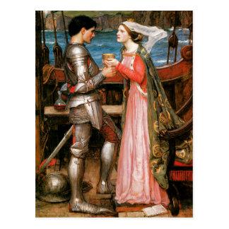 Cartão Postal Tristan e Isolde