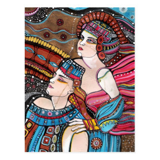 Cartão Postal Tristan e Isolde - uma história de amor