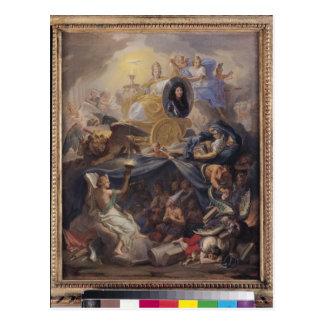 Cartão Postal Triumph da religião, 1686