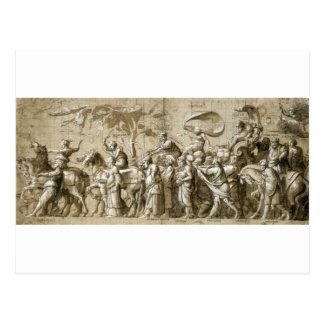 Cartão Postal Triumph da riqueza por Hans Holbein o mais novo
