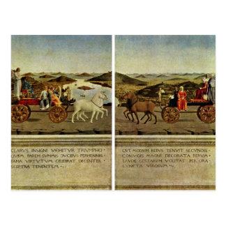 Cartão Postal Triumph do duque e da duquesa Federico a Dinamarca