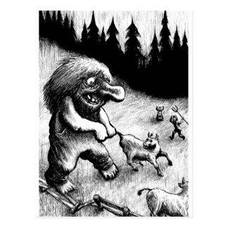 Cartão Postal troll-clipart-13