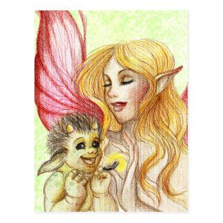 Cartão Postal Troll do bebê