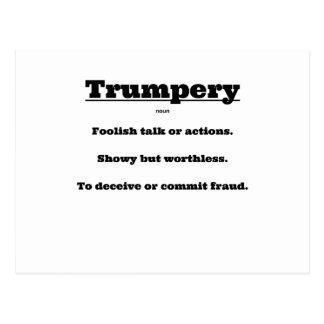 Cartão Postal Trumpery