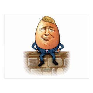 Cartão Postal Trumpty Dumpty