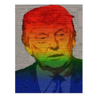 Cartão Postal Trunfo do arco-íris